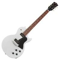 GIBSON LPSPTP01WWCH1 | Guitarra Eléctrica Les Paul Special Tribute P-90 Worn White Satin