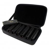 HOHNER M91107S | Kit de 7 Armonicas Diatonicas de 20 Voces en Tonos C, D, E, F, G, A, B