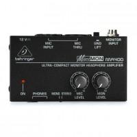 BEHRINGER MA400 | Amplificador de Audífonos para Uso en Estudio y Escenario