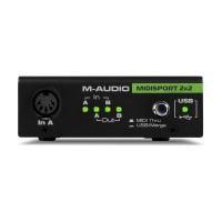 M-AUDIO MIDISPORT2X2AE | Interfaz MIDI alimentada por bus USB de 2 entradas / 2 salidas