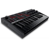 AKAI MPKMINI3B | Controlador USB Midi Portátil de 25 Teclas Negro