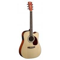 CORT MR500E-NT | Guitarra Electroacústica serie MR Natural brillante