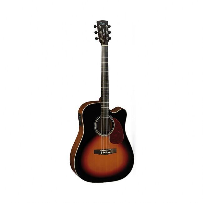 CORT MR710F-SB | Guitarra electroacústica estilo Folk