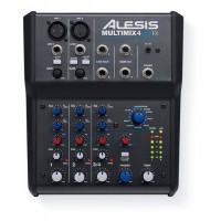 Alesis MULTIMIX4USBFX | Mezclador de 4 canales con efectos