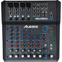 ALESIS MULTIMIX8USBFX | Mezclador USB de 8 canales con efectos