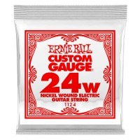 ERNIE BALL P01124 | Pack de 6 Cuerdas de Guitarra Eléctrica Nickel Wound 0.24