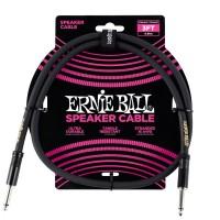 ERNIE BALL P06071 | Cable Recto para Parlante de 90 CM Negro