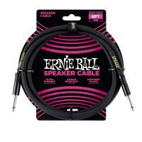 ERNIE BALL P06072 | Cable Recto para Parlante de 1.80 Negro