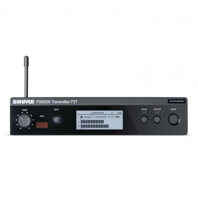 SHURE P3TAR-G20 | Transmisor De Canal inalámbrico Linea PSM300