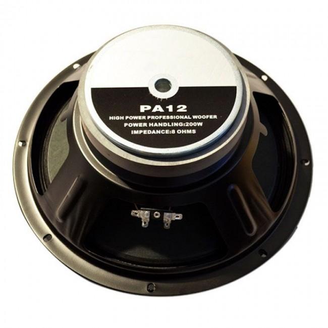 LEEA PA12 | Parlante de 12 con Campana de Chapa 200 Watts