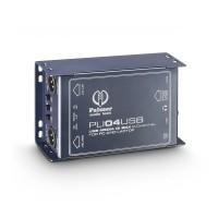 PALMER PLI04USB | Caja de 2 Canales con Inyección Directa con USB y Aislador de Linea