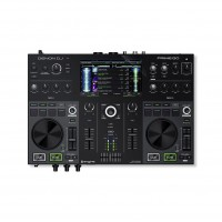 Denon Dj PRIMEGO | Controlador DJ Portátil de 2 Canales