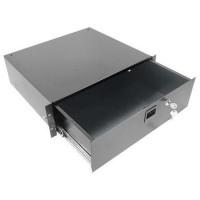 Penn Elcom R2293-2UK | Cajón de Rack 2U Carga Pesada con Llave y Entrada