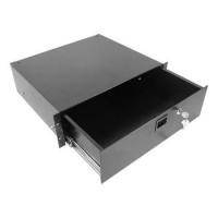 Penn Elcom R2293-3UK | Cajón de Rack 3U Carga Pesada con Llave y Entrada