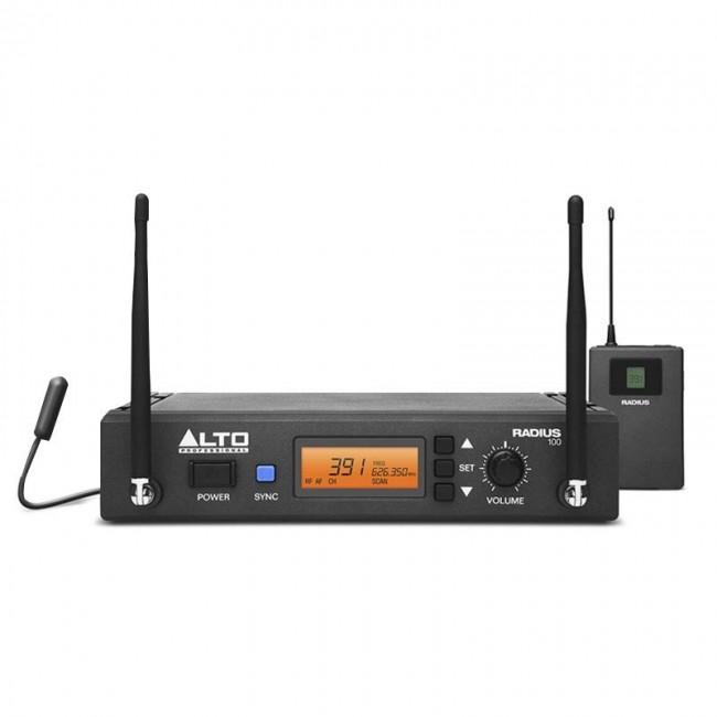ALTO PROFESSIONAL RADIUS100M | Sistema Inalámbrico de Instrumentos de Diversidad