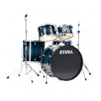 Tama RLI52KH4CB | Batería Acústica Rhymate de 5 Cuerpos Azul Translucido