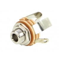 SWITCHCRAFT S12B | Conector Jack Stereo Doble 5.23 mm
