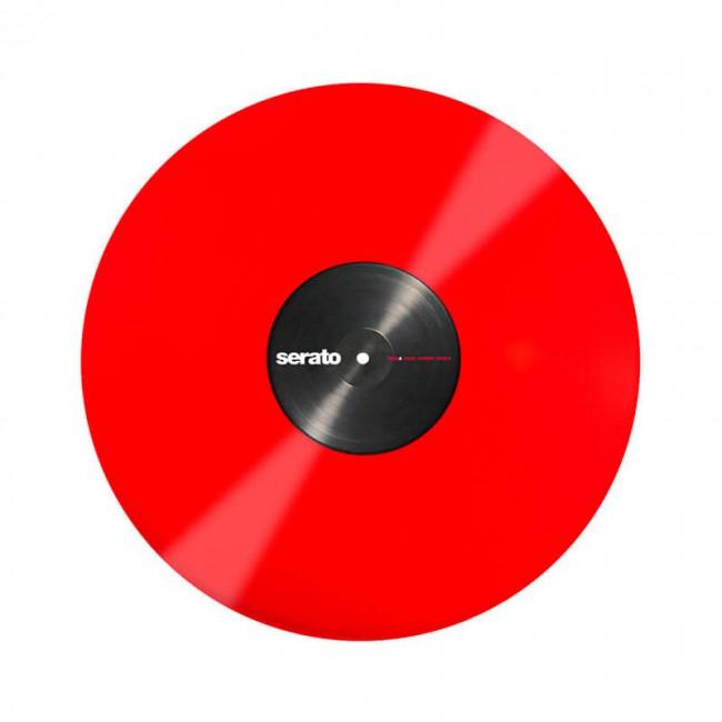 """Serato SCV-PS-RED-OV   Vinilo de Control para Serato Scratch Live o DVS 12"""" Rojo"""