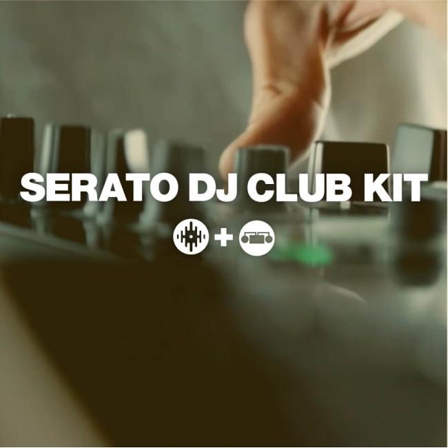Serato Serato-Club-Kit | Pack que Incluye Core Serato DJ + Pack de Expansion DVS