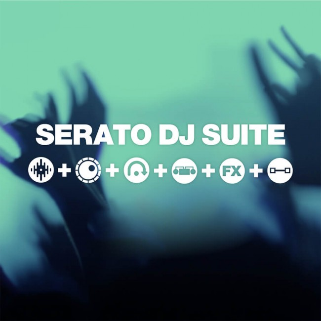 Serato Serato-DJ-suite | Core Serato DJ + Pack de Expansion Flip + Remote + FX Pack + Video + Pitch Time + DVS Expansion