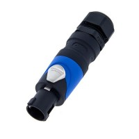 Amphenol SP-4-FG | Conector Speakon 4 Polos con Prensacable