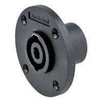 Amphenol SP-4-MC   Conector Speakon Chasis Redondo de 4 Polos