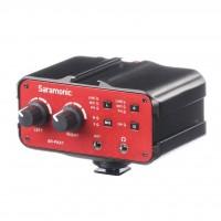 Saramonic SR-PAX1 | Adaptador de Micrófono de Preamplificador