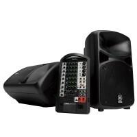 YAMAHA STAGEPAS600I | Sistema Portátil de PA 680 W con una Mezcladora Autoamplificada de 10 Canales