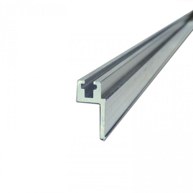 X PRO T174 | Perfil de Aluminio con Riel de Montaje para Rackear 3 mt