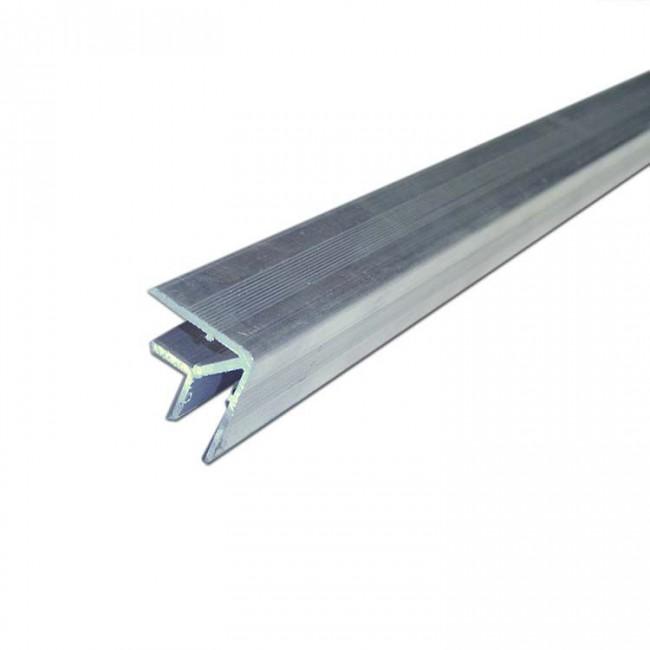 X PRO T177D | Perfil de Aluminio Doble Angulo 32mm x 32mm x 3 mts
