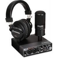 STEINBERG UR22CRPACK | Paquete de Interface para Grabar Música, Podcasts o Entrevistas