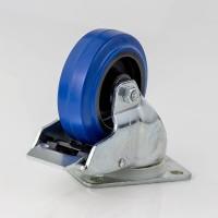 Penn Elcom W0985-V6 | Rueda Giratoria Azul con Freno de 100mm
