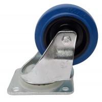 Penn Elcom W0990-V6 | Rueda Giratoria Azul de 100mm de Caucho
