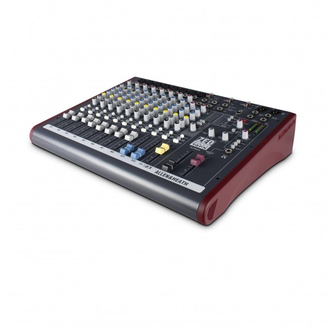Allen & Heath ZED60-14FX   Mezclador Multipropósito con FX para Sonido en Vivo y Grabación