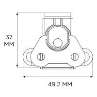 Penn Elcom 7361 | Cierre Mariposa Sobrepuesto para Exterior