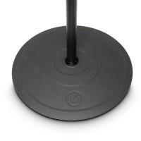 Gravity GMS2322B | Pie para micrófono jirafa con base redonda