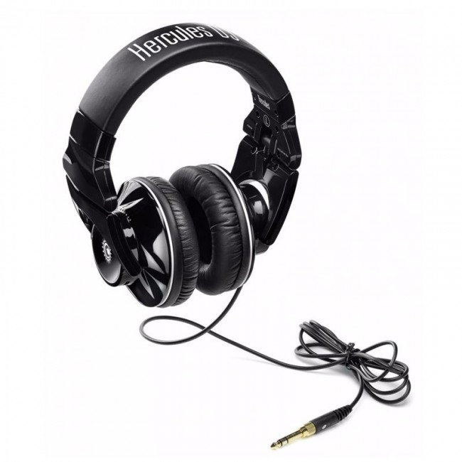 Hercules HER-LIGHTSHOW | Auricular para DJ con luz central indicadora de Beats