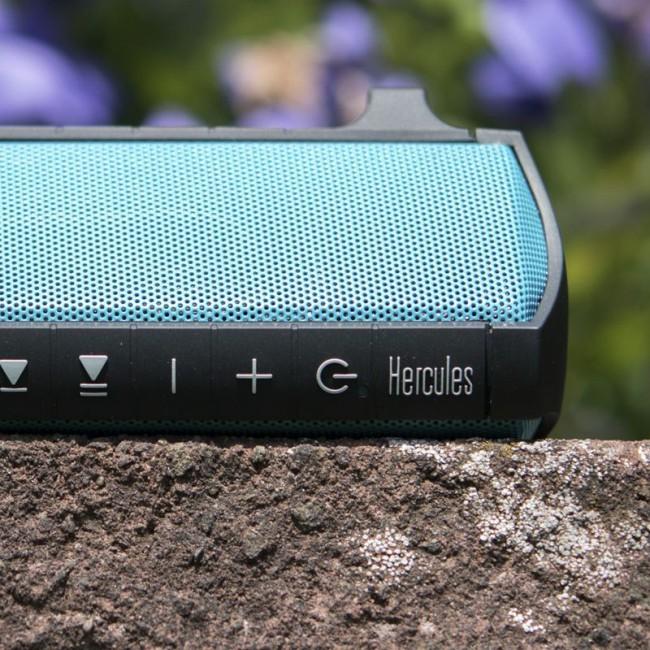 Hercules HER-WAE-RUSH | Parlante sumergible Portátil bluetooth con batería