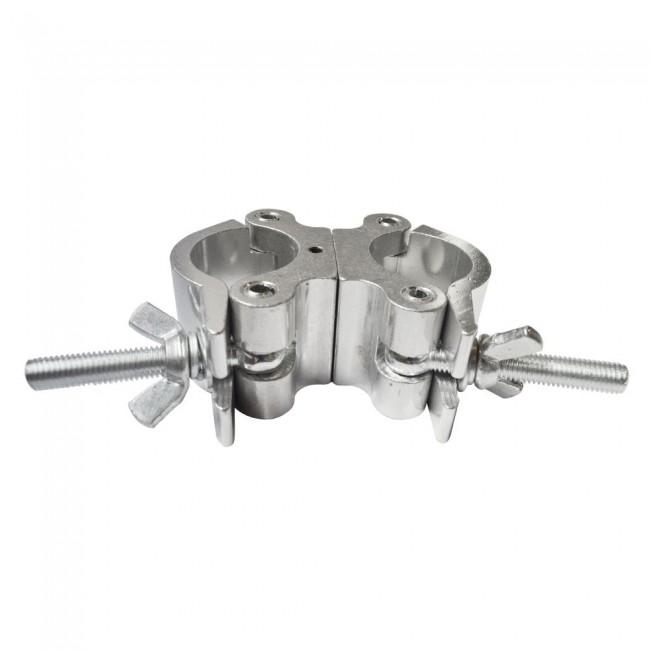 LION SUPPORT M424 | Morsa clamp doble de aluminio para iluminación