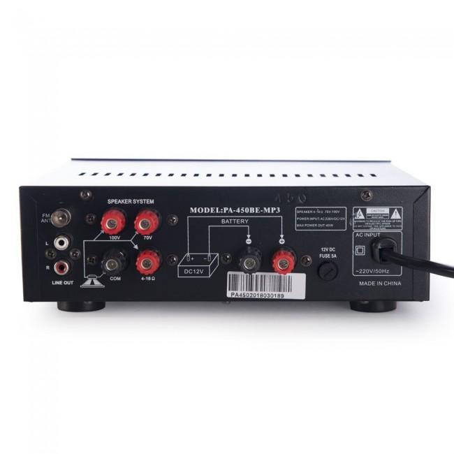 VMR AUDIO STORE 6 | Amplificador Potencia para Instalación en Bar o Local