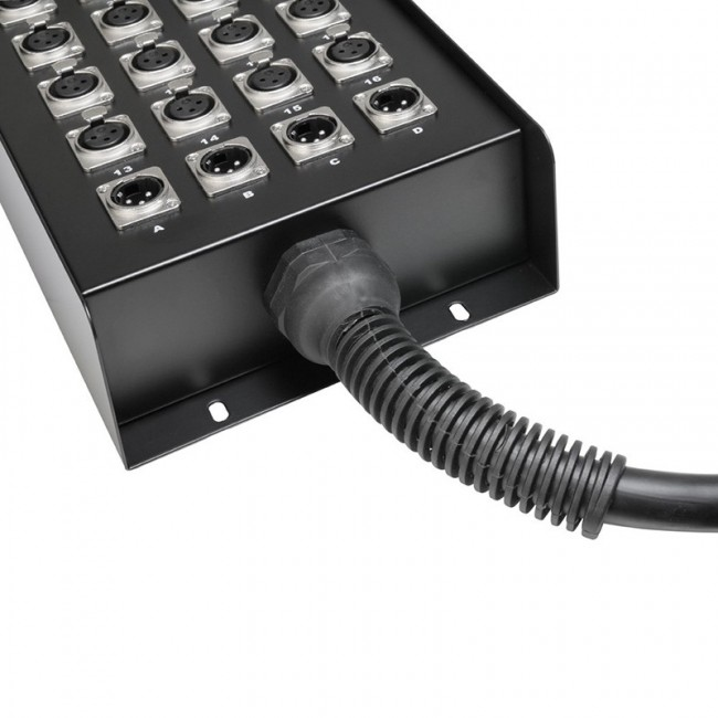 ADAM HALL K20C30   Manguera de Cable con Cajetín de Escenario 16/4 30 m